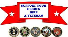 Support your Heroes Hire a Veteran
